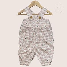 Shell Seaside Overalls Seaside, Organic Cotton, Overalls, Shell, Rompers, Boutique, Collection, Dresses, Fashion