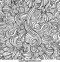 Doodles 70 Advanced Coloring Page
