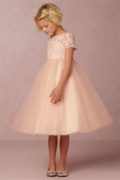 Free shipping, $78.33/Piece:buy wholesale 2016 Bhldn Blush Flower Girls Dresses for Weddings High Neck Lace and Tulle Ballgown Kid Wedding Dresses with Short Sleeves and Keyhole Back from DHgate.com,get worldwide delivery and buyer protection service.