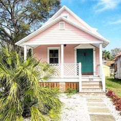 your home's curb appeal with these 23 exterior paint color ideasBoost your home's curb appeal with these 23 exterior paint color ideas Pink houses, please - twhispers key west cottage - where we stay all the time.