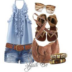 Untitled #3524 by stylisheve on Polyvore