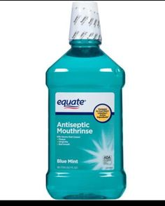 Mosquito repellant large bottle mint flavored mouthwash, 3 cups Epsom Salts, 12 oz cans cheap, stale beer. Mix together till salt dissolves - spray outside. Mosquito Spray, Insecticide, Mosquitos, Teeth Care, Insect Repellent, Mint, Mouthwash, Oral Health, Dental Health