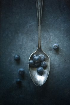 Food styling still life photography - Blueberries fruit