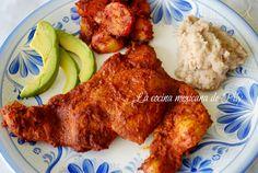La cocina mexicana de Pily: Delicioso adobo para diferentes usos (carne adobada)