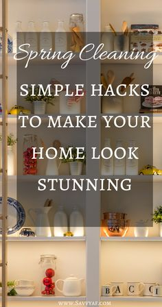 10 Simple Spring Cleaning Tips To Make Your Home Look Stunning
