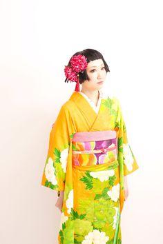 2014.4.22 Photo: Dali HAIR DESIGN ~ Bright Kimono ~~~AmyLH~~~