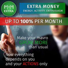 100% per month