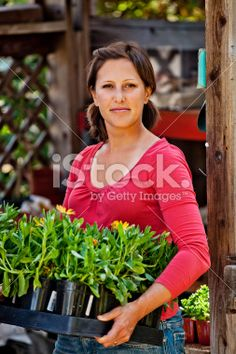 Time for spring planting Royalty Free Stock Photo