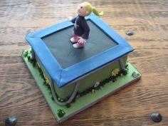 Trampoline Cake cakepins.com