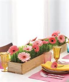 Gerber Daisy Wedding Table Centerpieces - Bing Images