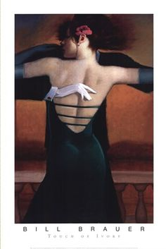 Bill Brauer First We Ballroom Latin Dancer Latin Dance Romance Poster 14x20