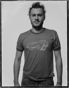 Heath Ledger photographed by Ben Watts for The Face, 2003. Promoting 'Ned Kelly'.