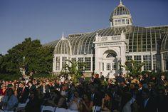 Justin & Kristen - MARRIED Photo By Derk's Works Franklin Park Conservatory, Columbus