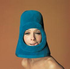 Jean-Daniel Lorieux, Olga, fashion by Pierre Cardin, Ragazza pop cover, Rome, 1972, Galerie Dumonteil