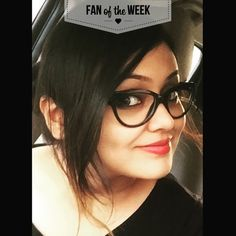 Photo: Our Fan of the Week Akira has gorgeous eyes that complement her classic frames! Be sure to tag #VogueEyewear in your Instagram pics for a chance to be featured.