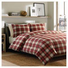 Navigation Plaid Comforter Set