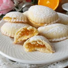Candy Recipes, Snack Recipes, Dessert Recipes, Cooking Recipes, Snacks, Lebanese Desserts, Biscotti Cookies, Italian Cookies, Relleno