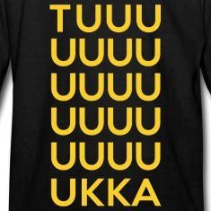 For casual wear or if you're supporting the Bruins at a hockey game, this TUUUKKA design is perfect for reppin' and showing pride in Boston Hockey! Rock this on t-shirts, sweatshirts, tanks, and more!