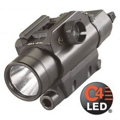 Streamlight - TLR-VIR Weapon Mounted Visible and IR LED Tactical Illuminator Non-Rechargeable Flashlight - 69180