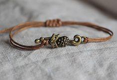 malystrom / náramok Bracelets, Gold, Leather, Jewelry, Fashion, Bangles, Jewellery Making, Moda, Arm Bracelets