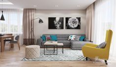 Two Different Springtime Themes In Two Small Apartments | Living Room  Options | Pinterest | Small Apartments, Apartments And Living Rooms