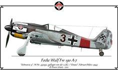 Focke Wulf Fw 190 A-7, flown by 2./JG 1 Oesau