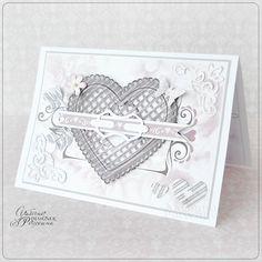 Открытки ручной работы на день Святого Валентина.