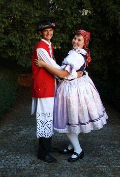 Folklor Brněnska - Fotoalbum - kroj z Pozořic Czech Republic, Harajuku, Victorian, Dresses, Style, Fashion, Pictures, Photograph Album, Vestidos