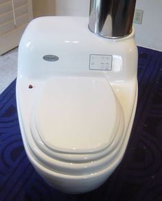 EcoJohn - The Incinerating Toilet ... see more at InventorSpot.com