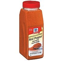 McCormick Ground Cayenne Pepper.  http://affordablegrocery.com