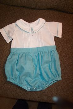 Baby Boy Bubble made by Linda Regan Creamer.