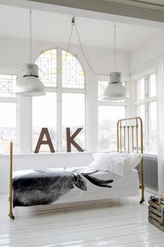 white space - the A and K in the picture are clearly a sign that Adam and I should have this space.