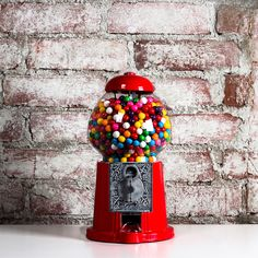 My design inspiration: Medium Red Gumball Machine on Fab. Penny Candy, Bedroom Red, Gumball Machine, Retro Toys, Deco Design, Good Old, Make It Simple, At Least, Design Inspiration