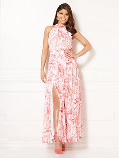 Shop Eva Mendes Collection - Ximena Maxi Dress. Find your perfect size online at the best price at New York & Company.