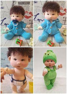 Amigurumi Doll İnnocent Baby Free Crochet Pattern - Her Crochet Doll Amigurumi Free Pattern, Crochet Dolls Free Patterns, Crochet Doll Pattern, Amigurumi Doll, Knitting Patterns, Crochet For Boys, Cute Crochet, Crochet Gifts, Crochet Toys