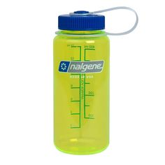 Nalgene Wide Mouth Tritan copolyester Water Bottle, 16 oz, Safety Yellow -- This is an Amazon Affiliate link. To view further for this item, visit the image link.