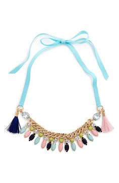 Cara Couture Gem Necklace (Girls) available at #Nordstrom