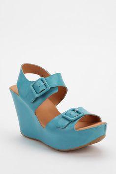 Kork-Ease Susie Leather Platform Wedge Sandal  #UrbanOutfitters