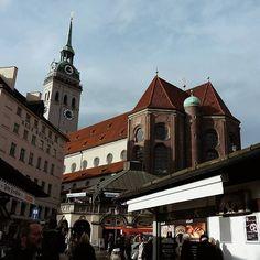 München ❤••#müchen #bayern #deutschland #exploretocreate #wanderlust #viaje #visitas #family