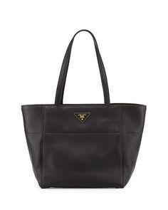 8c2755537c08 Prada Vitello Daino Shopper