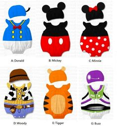 Baby Disney costumes!! I just died, these are beyond adorable!! :D