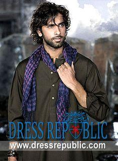 Style DRM1175, Product code: DRM1175, by www.dressrepublic.com - Keywords: Pakistani Mens Shalwar Kameez, Mens Shalwar Kameez Pakistani, Men Shalwar Kameez Suit