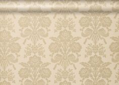 Laura Ashley Tatton in Champagne, new bedroom wallpaper :-)