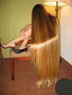 Gorgeous hair..... A tad long...but nevertheless gorgeous!!