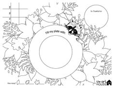 Free Printable Thanksgiving Placemat  Thanksgiving Coloring/Activities for Kids