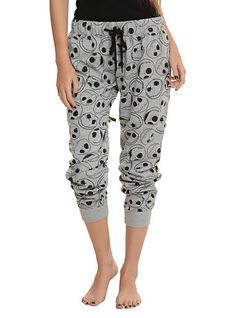 http://www.hottopic.com/hottopic/PopCulture/ShopByMovieGenre/CartoonAnimationMovies/The Nightmare Before Christmas Jack Heads Girls Pajama Pants-10211723.jsp
