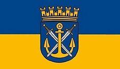Flag of Solingen, Nordrhein-Westfalen, Germany