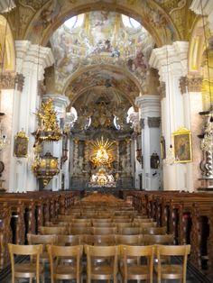 """Matriatrost Basilica"" by leeannmcnabb on Flickr - Mariatrost Catholic Basilica, Graz, Austria"