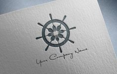 Nautical logo ideal for restaurant or fish shop by OBercailDesign