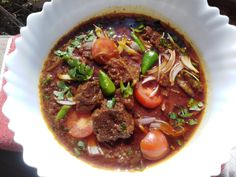 Today am gonna show you How To make Spicy Beef Handi at home Ingredients Beef kg Oil cup Onion 2 medium Tomatoes 4 large Yogurt 4 tbs Tomato puree 1 . Coconut Milk Powder, Coriander Powder, Red Chilli, Tbs, Turmeric, Tomatoes, Yogurt, Onion, Spices